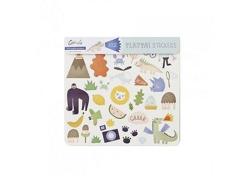 Olli Ella Olli Ella Playpa Stickers Jungle