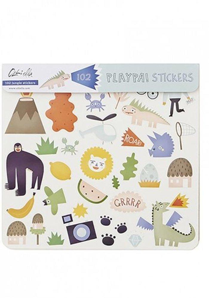 Olli Ella Playpa Stickers Jungle