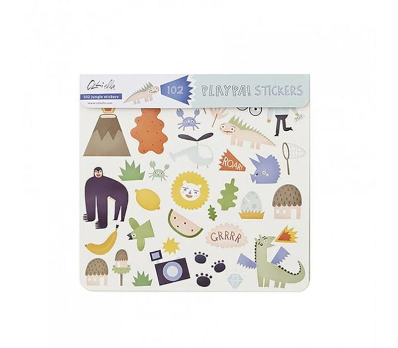 Olli Ella Playpa Stickers Jungle
