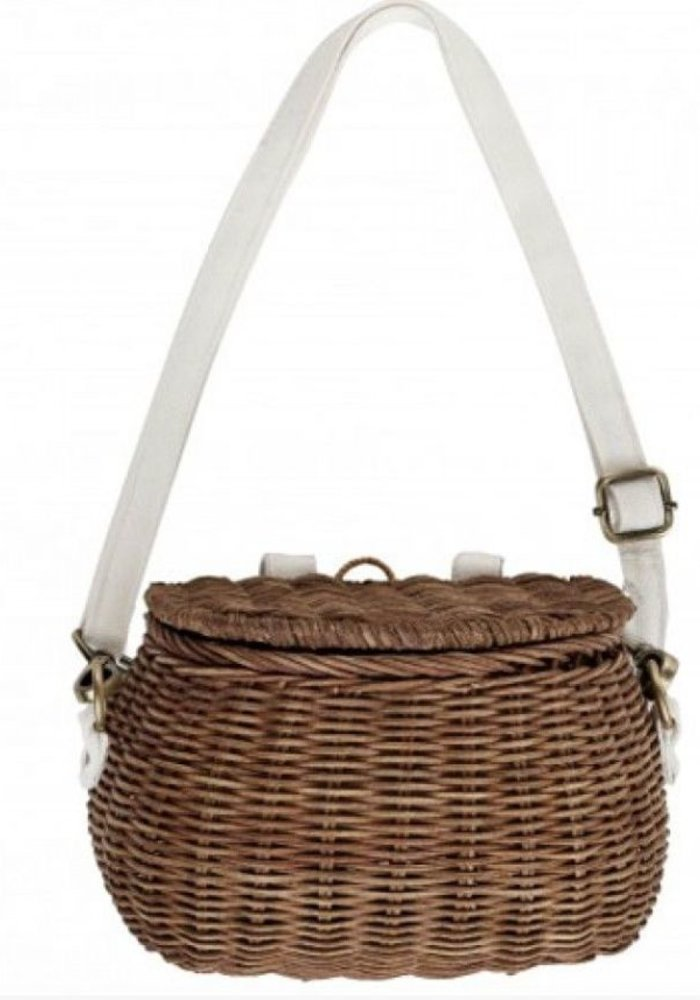 Olli Ella Mini Chari Basket Natural