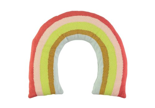 Meri Meri Meri Meri Knitted Rainbow Cushion