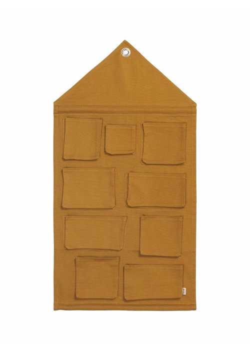Ferm Living Ferm Living House Wall Storage - mustard