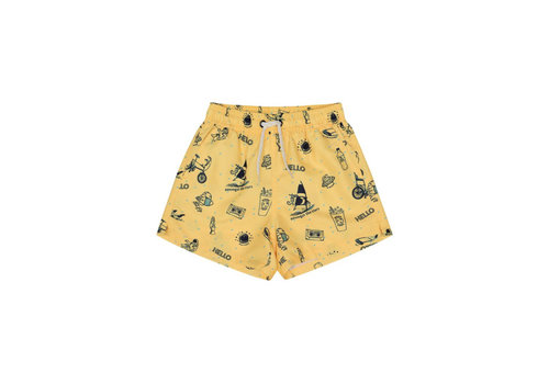 Soft Gallery Soft Gallery Dandy Swim Pants - goldfinch starsurfer
