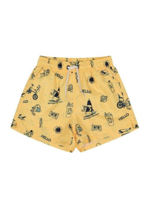 Soft Gallery Soft Gallery Dandy Swim Pants - goldfinch starsurfer