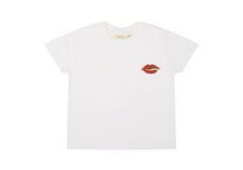 Soft Gallery Soft Gallery Dharma T-shirt - leolips white