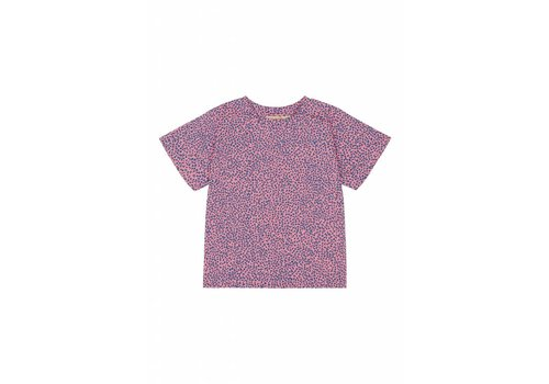 Soft Gallery Soft Gallery Dominique T-shirt - leospot pink icing