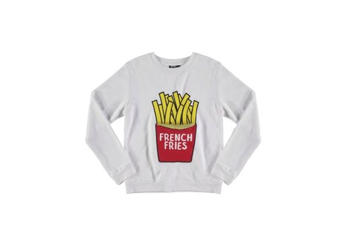 Yporqué Yporqué French Fries Sweater - white