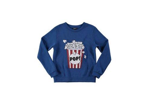 Yporqué Yporqué Popcorn Sweater - blue