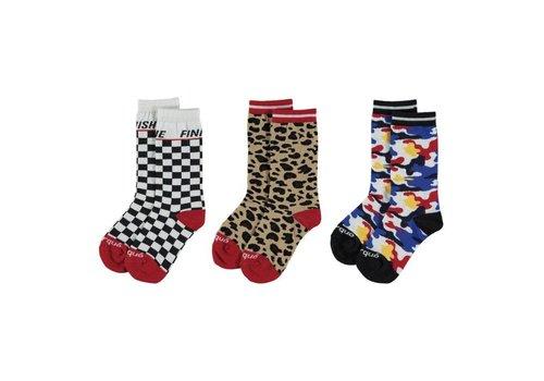 Yporqué Yporqué All Over Socks - camo rainbow