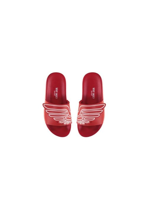 Yporqué Yporqué Wings Slide Slippers - red