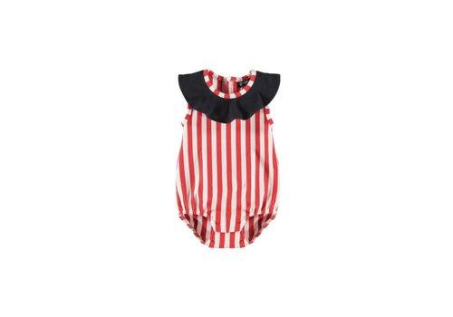 Yporqué Yporqué Circus Baby Romper - striped