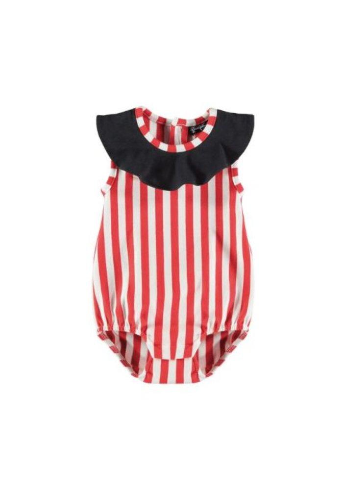 Yporqué Circus Baby Romper - striped