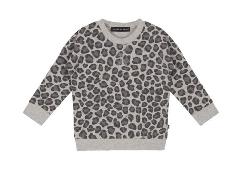 House of Jamie House of Jamie Crewneck Sweatshirt Rocky leopard