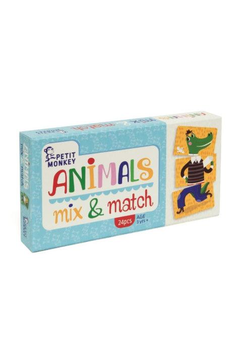 Petit Monkey Petit Monkey Animals Mix & Match 3 yrs+