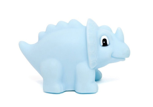 Petit Monkey Petit Monkey Night Light Dino Triceratops Blue
