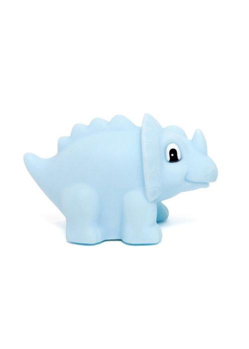 Petit Monkey Petit Monkey Night Light Dino Triceratops Blue