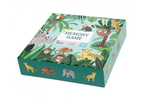 Petit Monkey Petit Monkey Memory Game Jungle Animals 3 yrs+