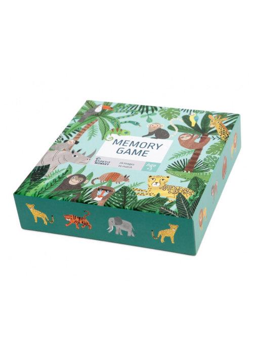 Petit Monkey Petit Monkey Memory Game Jungle Animals 3 yrs+