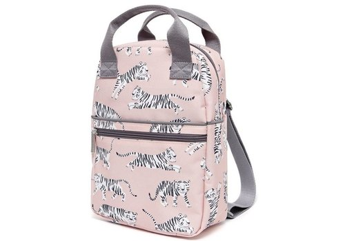 Petit Monkey Petit Monkey Backpack White Tigers Large