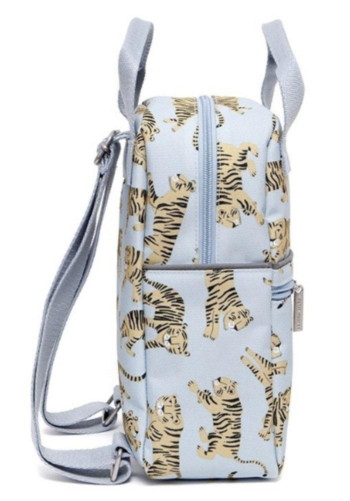 Petit Monkey Backpack Tigers Grey Large