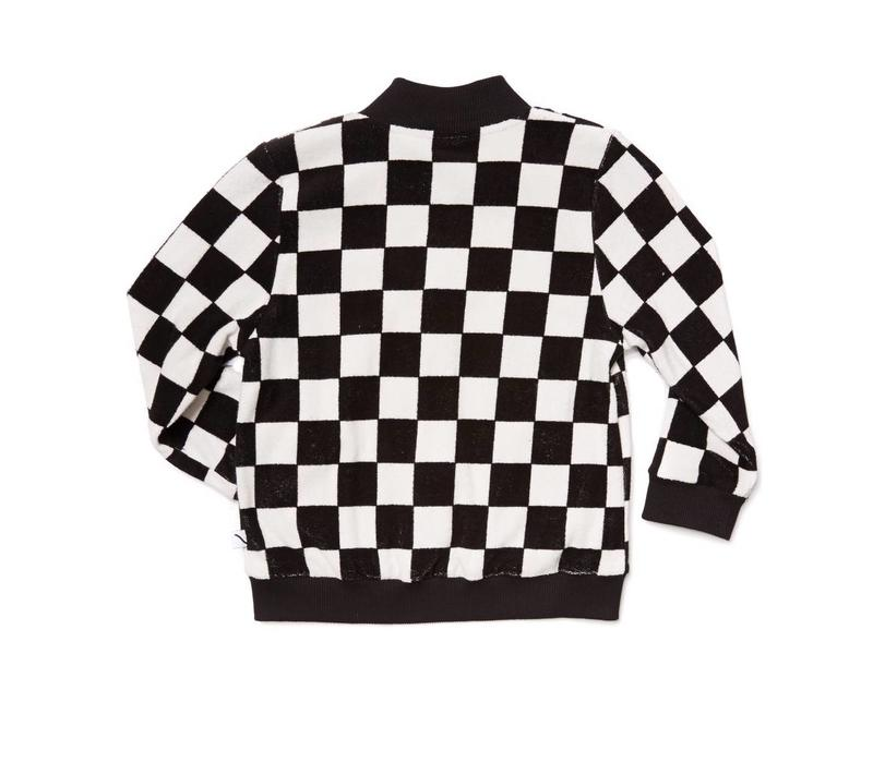 CarlijnQ Checkers Bomber With Casette