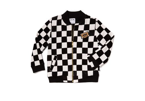 CarlijnQ CarlijnQ Checkers Bomber With Casette
