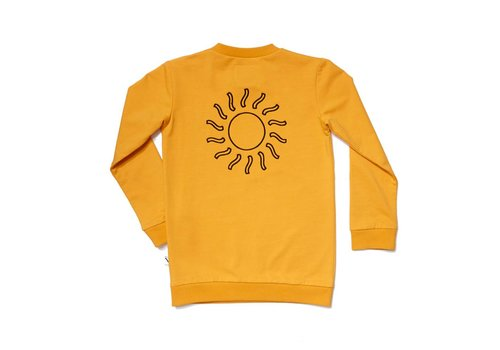 CarlijnQ CarlijnQ Big Sun Sweater + Embroidery