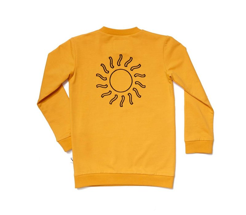 CarlijnQ Big Sun Sweater + Embroidery