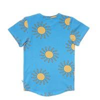 CarlijnQ Big Sun T-shirt Short Sleeve Drop Back