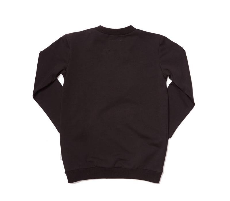 CarlijnQ Kiss Goodbye sweater/ lips fake fur