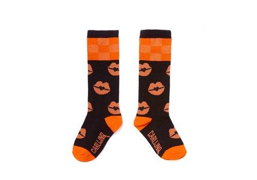 CarlijnQ CarlijnQ Knee Socks - kiss goodbye