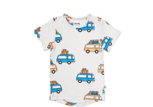 CarlijnQ CarlijnQ Road Trippin' T-shirt Short Sleeve Drop Back