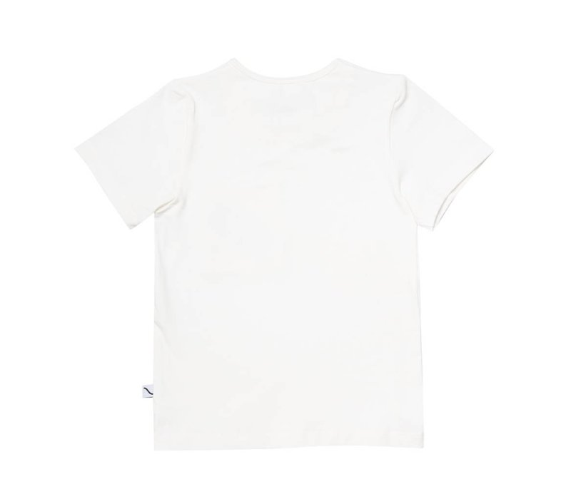 CarlijnQ Sandwiches T-shirt - off-white + embroidery