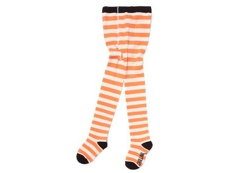 CarlijnQ CarlijnQ Tights Stripes - peach/off white