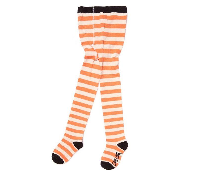 CarlijnQ Tights Stripes - peach/off white