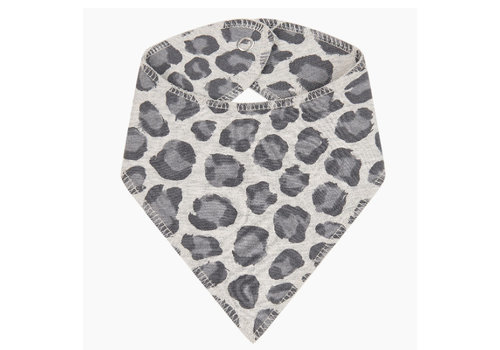House of Jamie House of Jamie Burb Bib Rocky Leopard