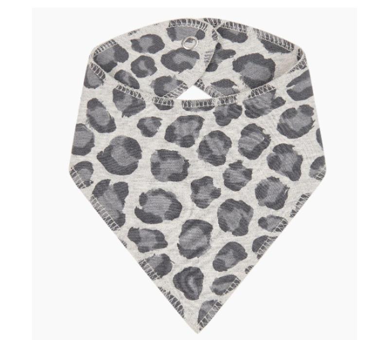 House of Jamie Burb Bib Rocky Leopard