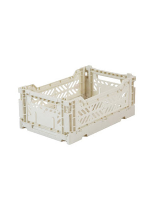 Eef Lillemor Lillemor Folding Crate  Mini - light grey