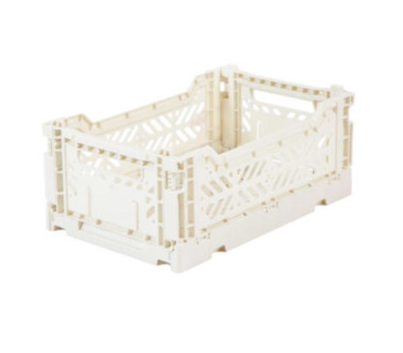 Lillemor Folding Crate  Mini - coconut