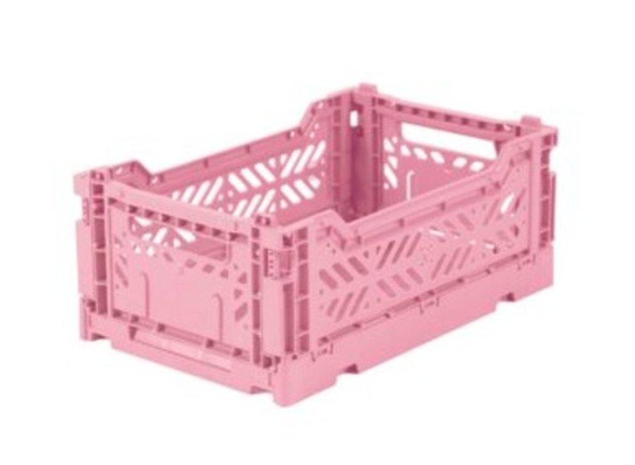 Lillemor Folding Crate  Mini - baby pink