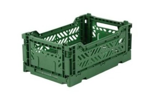 Eef Lillemor Lillemor Folding Crate  Mini - dark green