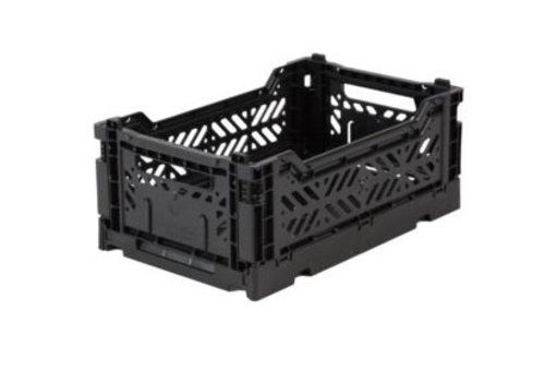 Eef Lillemor Lillemor Folding Crate Mini - black