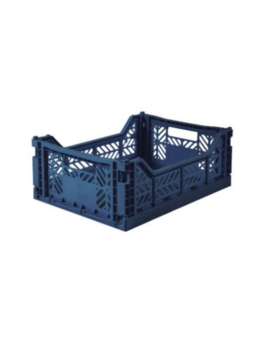 Eef Lillemor Lillemor Folding Crate Midi - navy