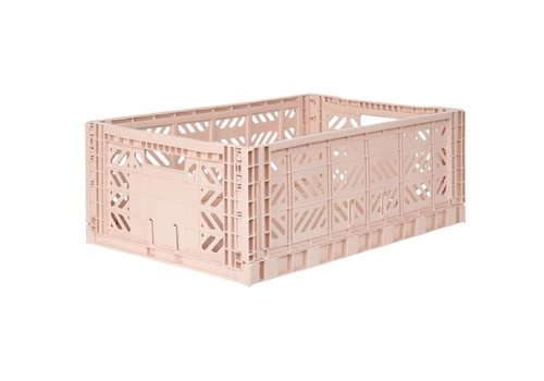 Eef Lillemor Lillemor Folding Crate Large - milk tea