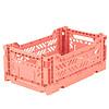 Eef Lillemor Lillemor Folding Crate  Mini - salmon pink