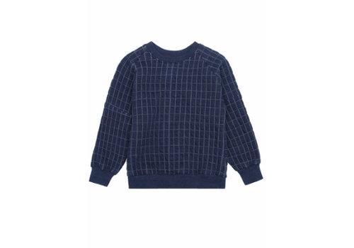 Soft Gallery Soft gallery Beau Sweatshirt Blue Quilt