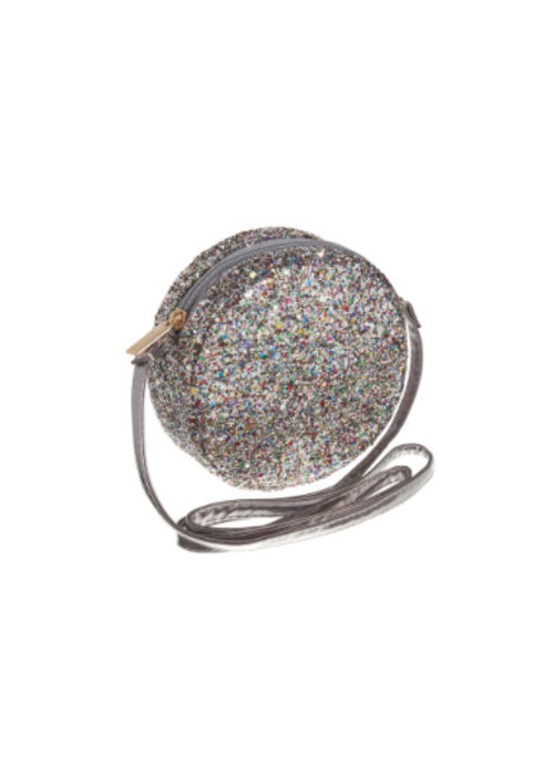 Mimi&Lula Mimi & Lula Glitter Cross Body Bag Heamatite
