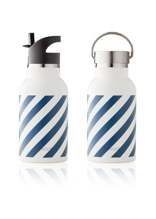 Liewood Liewood Anker Water Bottle - stripe navy creme de la creme