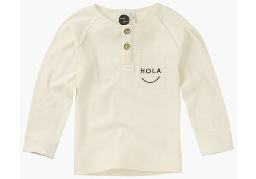 Sproet & Sprout Sproet & sprout Longsleeve Hola - summer white