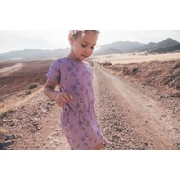 Sproet & Sprout T-shirt Dress Motel - dusty violet